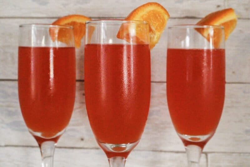 low carb champagne cocktail