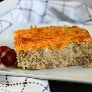 grits and sausage casserole