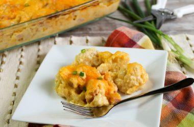 keto ham and cheese casserole