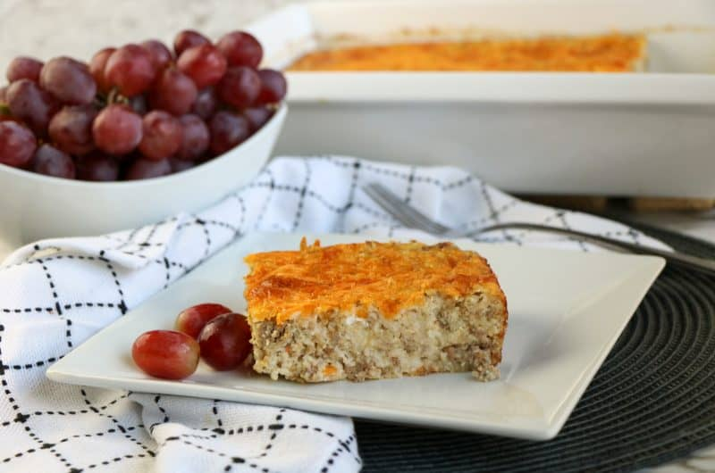 sausage and grits casserole