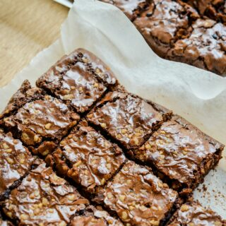 brownies from scratch with nuts