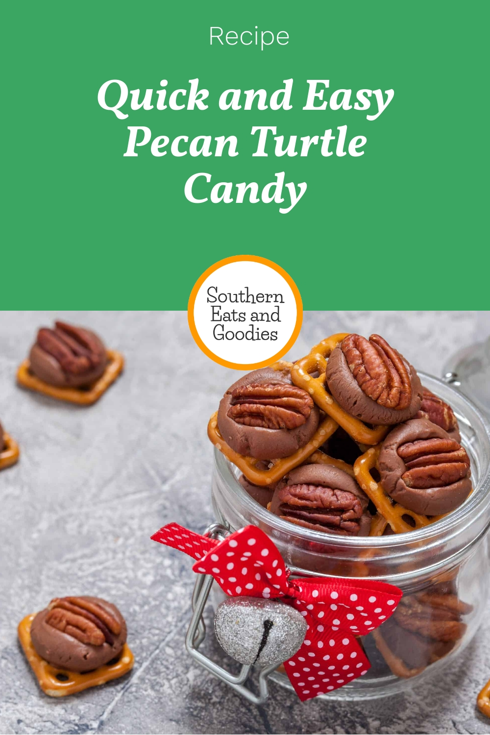 Quick and Easy Pecan Turtle Candy